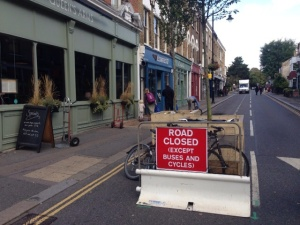 Orford Road closed to traffic