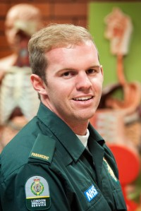 Paramedic Mitchell Hand (Pic: LAS)