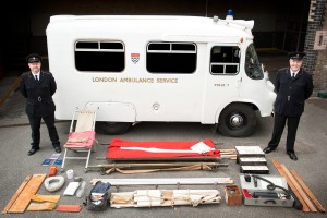 A 1965 London Ambulance (Pic Tim Saunders/LAS)