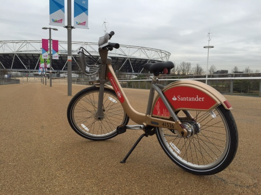 Boris bike olympic stadium