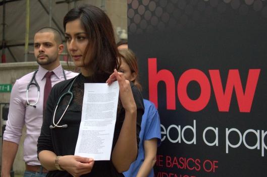 Junior doctors Hunt protest 2