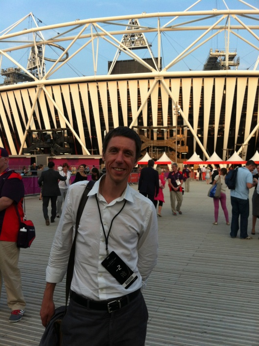 Stuart Ross at the London Olympics