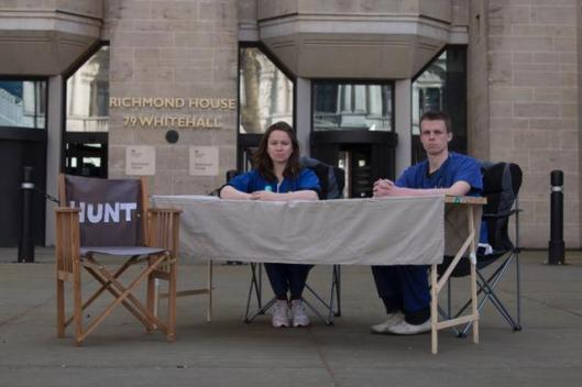 Junior docs outside Department of Health