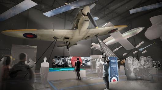 RAF Museum revamp 1