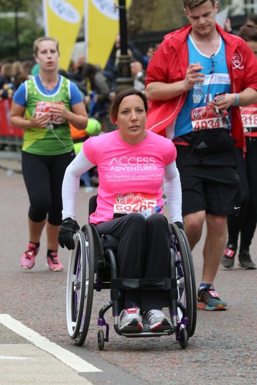 Jane Sowerby London marathon