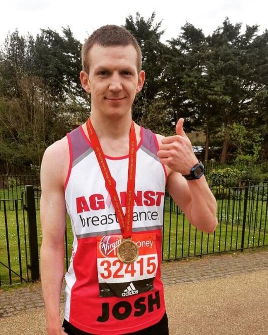 Josh Bryan marathon runner