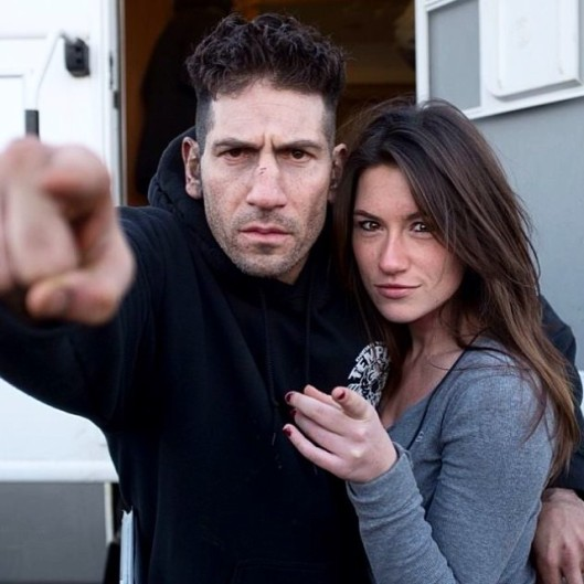 Jon Bernthal and Holly Dilon