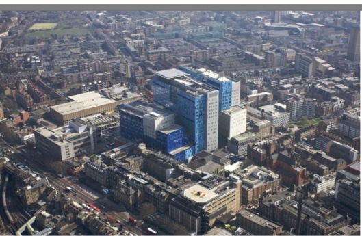 life sciences aerial pic