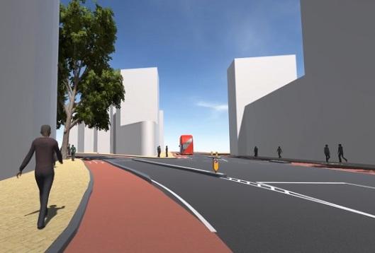 London Boulevard impression