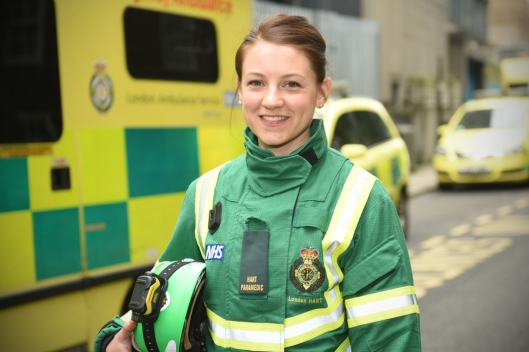 Gemma Taylor LAS Hart paramedic
