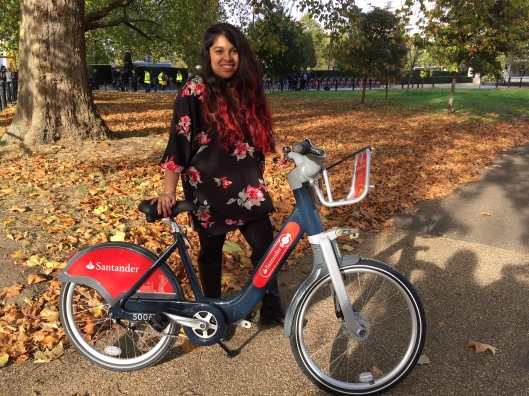 Safeeyah Kazi and new Boris Bike