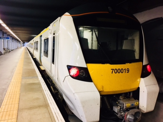 New Thameslink train at King's Cross