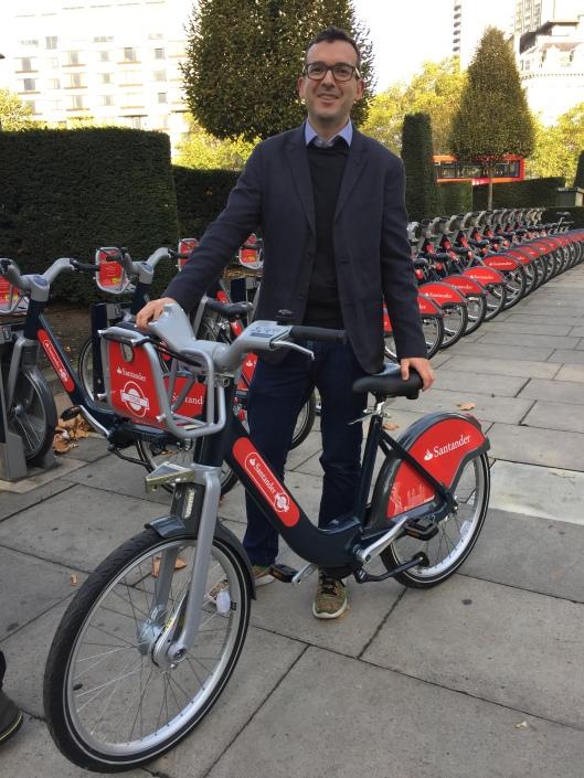 Will Norman and new Boris Bike