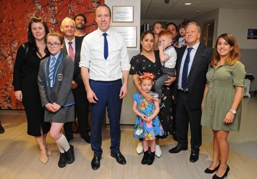 Matt Hancock at Croydon hospital 2
