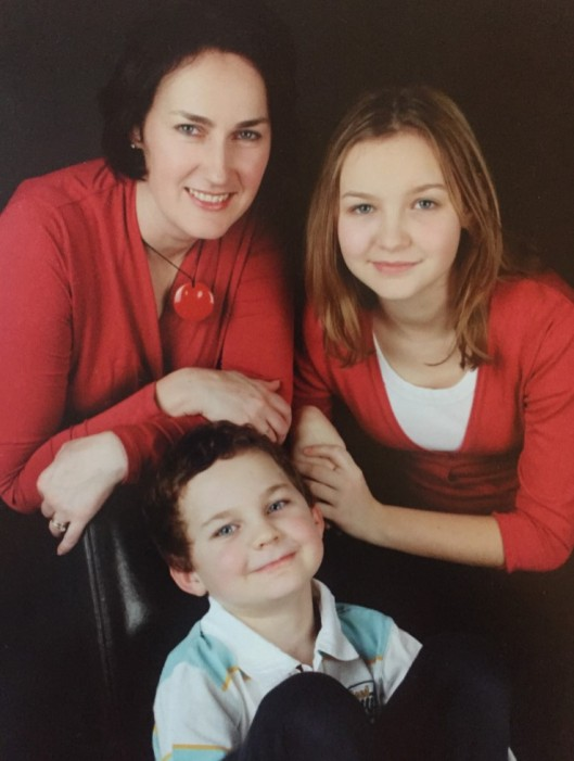 Professor Maria Bitner-Glindzicz and her children