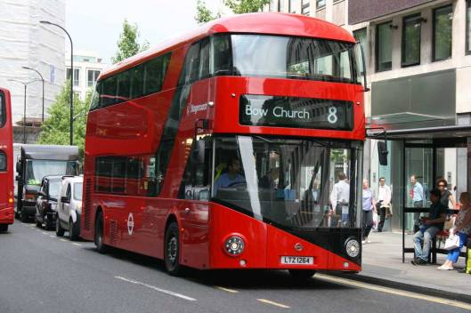 Routemaster route 8 bus