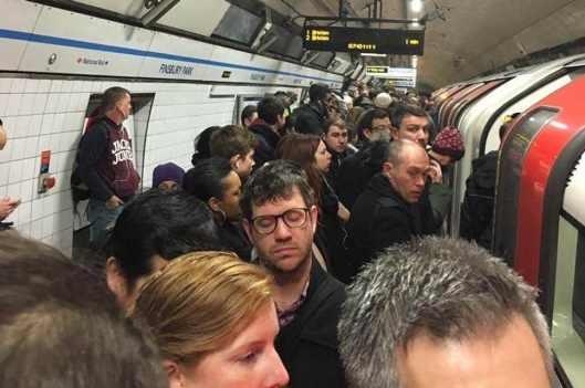 Tube overcrowding
